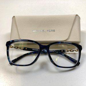 Michael Kors Blue Tortoise Shell Glasses